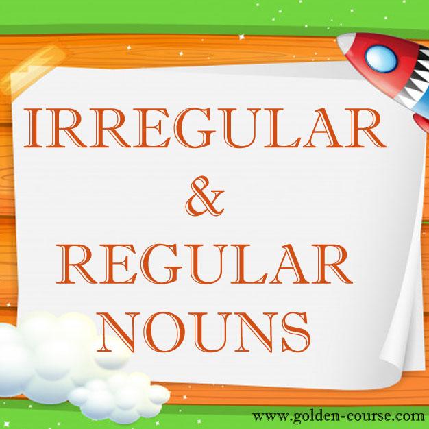 Pengertian Regular Dan Irregular Plural Nouns Golden English