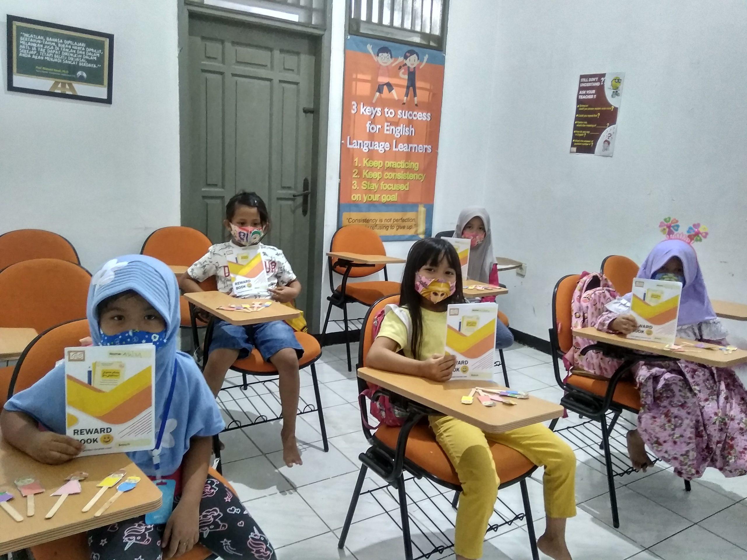 kursus bahasa inggris untuk anak